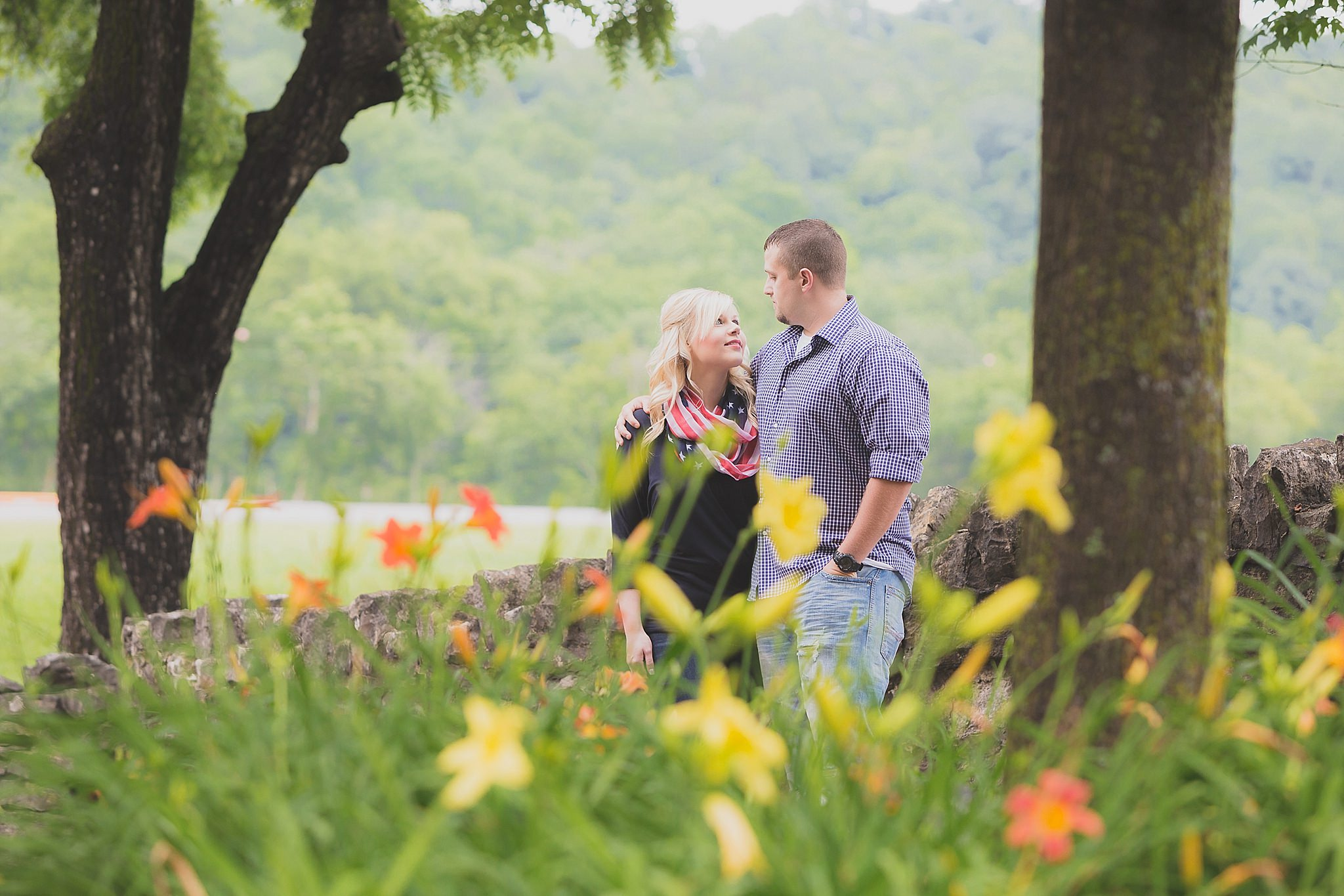 Maker's Mark Distillery Engagement Session