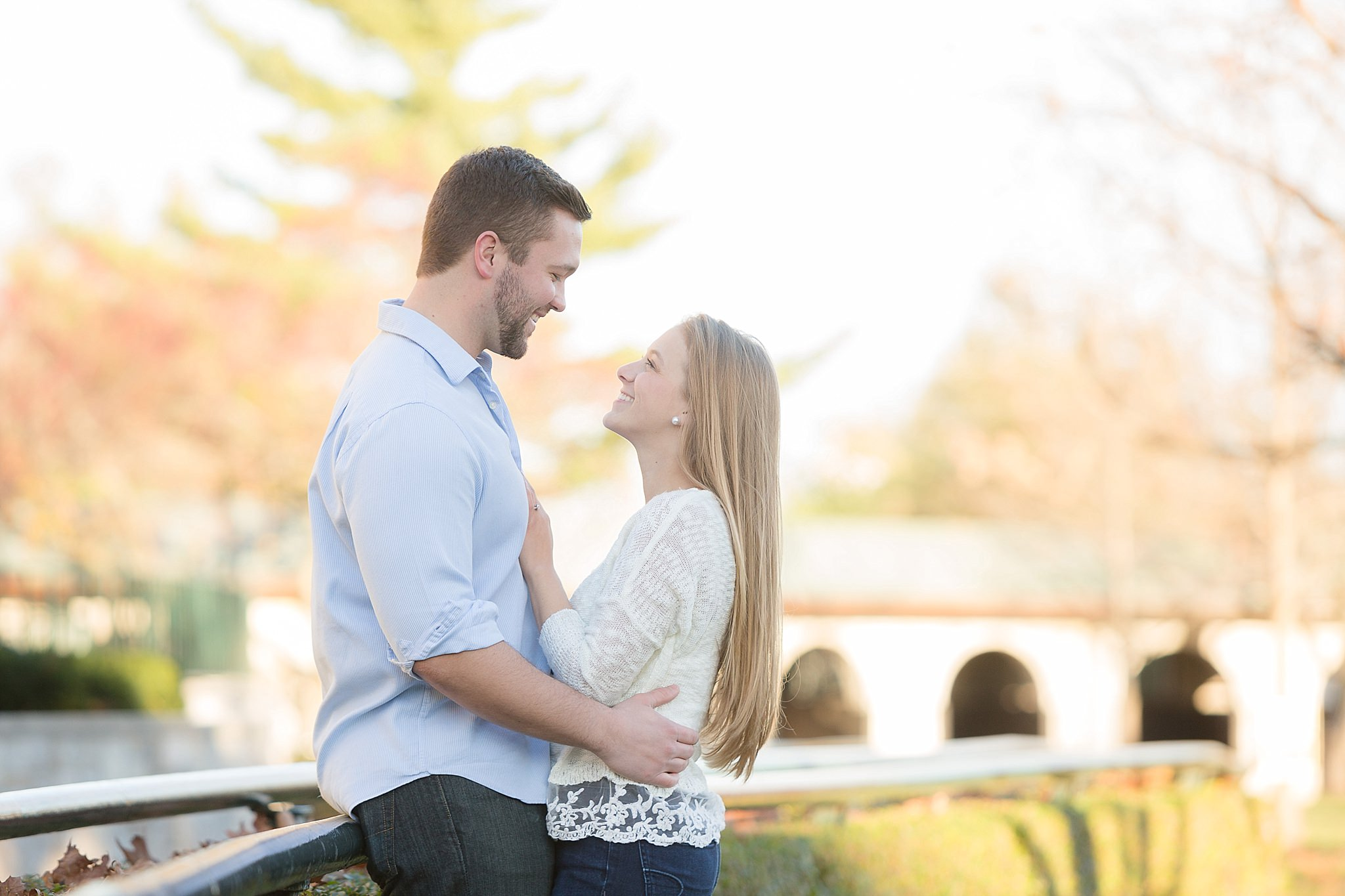Emily+Corey - Engagement Session Keeneland in Lexington, KY